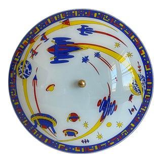 Space Age Flush Light For Sale