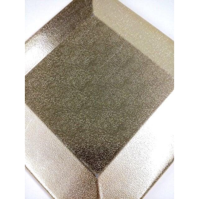 Art Deco Ceramic Heart Tile Tray - Image 4 of 8