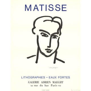 Henri Matisse Katia 1964 Poster For Sale