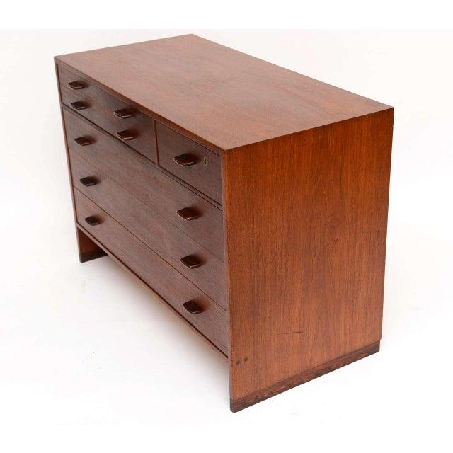 1950s Hans Wegner Mid Century Modern Teak Dresser for Ry Mobler/George Tanier - Image 9 of 9