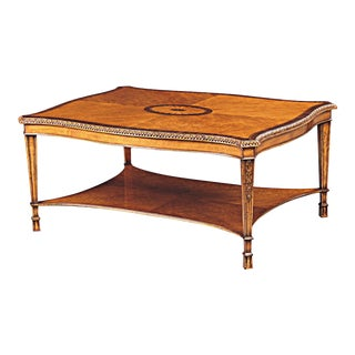 Scarborough House Birdseye Maple Cocktail Table For Sale