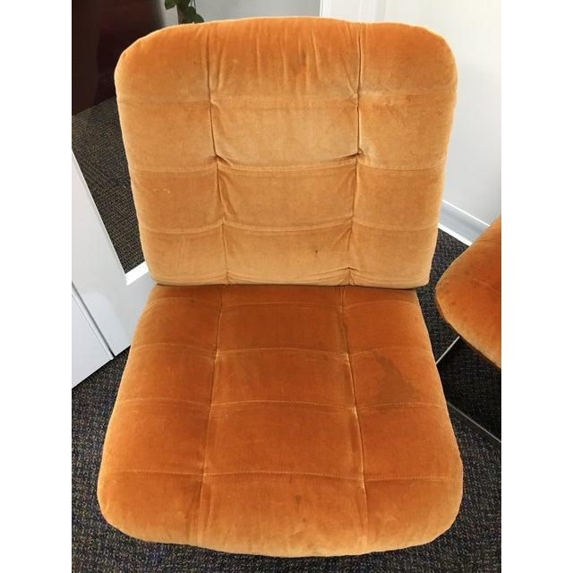 1970s Vintage Roche-Bobois Cantilevered Chairs- Set of 4 For Sale In Chicago - Image 6 of 12