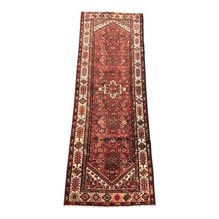 "Vintage Persian Karajeh Runner - 3'3"" x 10'1"" For Sale"