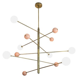 """Orbital"" Chandelier by Blueprint Lighting"