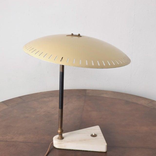 Midcentury Italian Table Lamp Desk Light Sarfatti Arteluce Stilnovo 1950s For Sale - Image 10 of 11