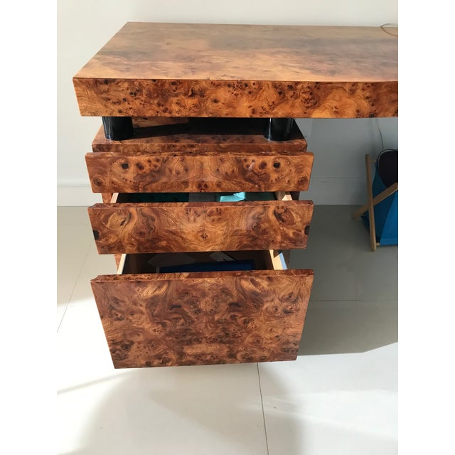 Wood Pace Collection Leo Rosen Desk For Sale - Image 7 of 8