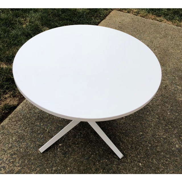 Mid-Century Modern Knoll Mid-Century Modern X Base Dining Table For Sale - Image 3 of 7