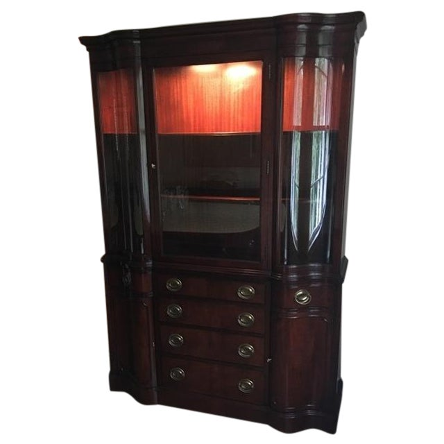 Drexel Mahogany Meriden Collection China Cabinet - Image 1 of 5