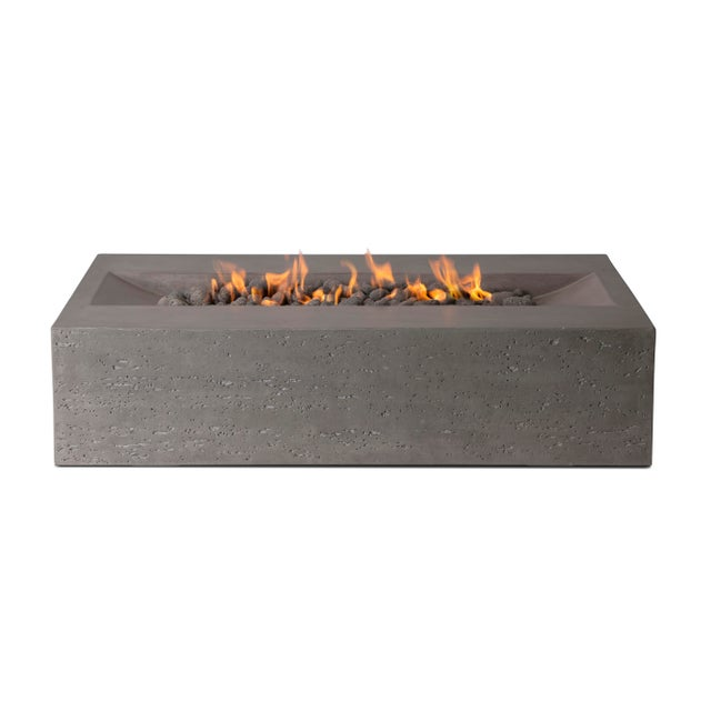 PyroMania Millenia Fire Pit Table - Slate Color, Propane For Sale - Image 11 of 11