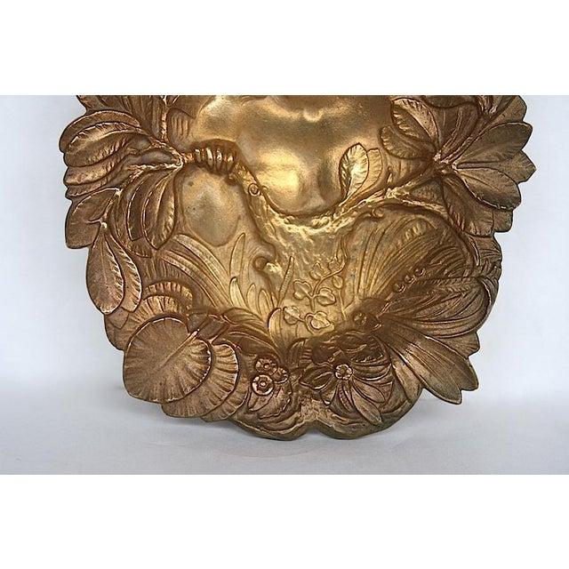 Bronze Art Nouveau Trinket Tray For Sale - Image 4 of 9