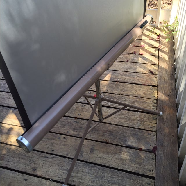 Mid Century Wards Portable Projection Screen - Image 4 of 11