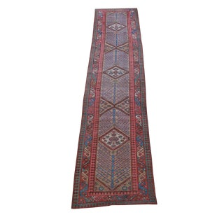 "Vintage Persian Sarab Runner - 3'5"" X 14'1"""