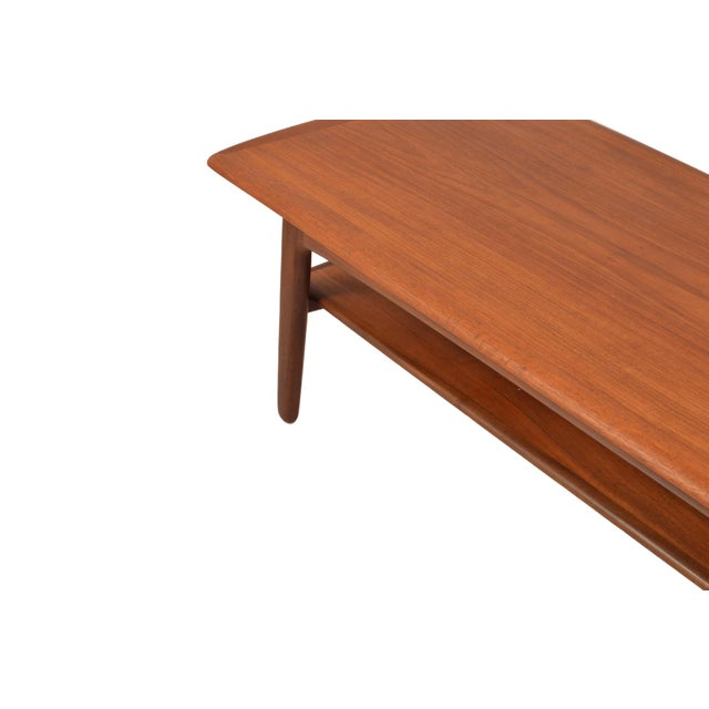 Svend Madsen Mid-Century Svend A. Madsen Teak Coffee Table For Sale - Image 4 of 7