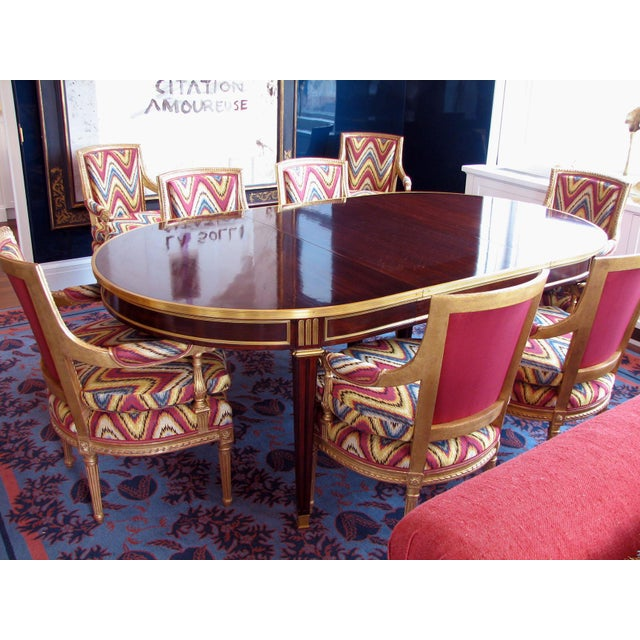 Louis XVI Style Dining Table For Sale In New York - Image 6 of 8