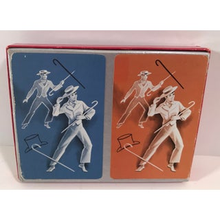 Vintage Hamilton Double Graphic Playing Card Set Preview