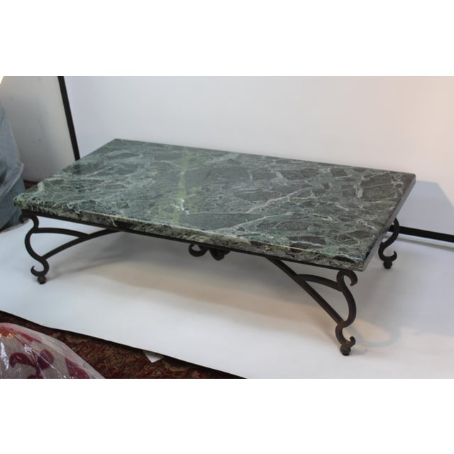 Italian Marble Table For Sale In San Diego - Image 6 of 10