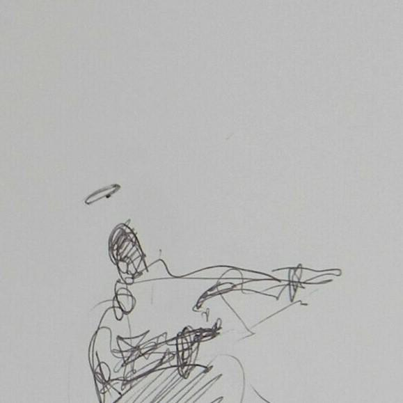 Up For Sale: A One-Of-A-kind Original Artwork by Artist JOSE TRUJILLO Measurements: 5 x 8 inches Medium: Pen Ink on Paper
