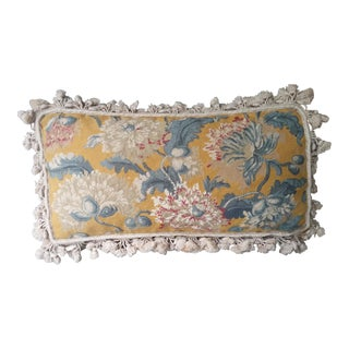 Traditional Style Chelsea House Needlepoint Pillow For Sale
