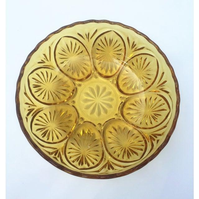 Yellow Glass Bowl - Image 2 of 3