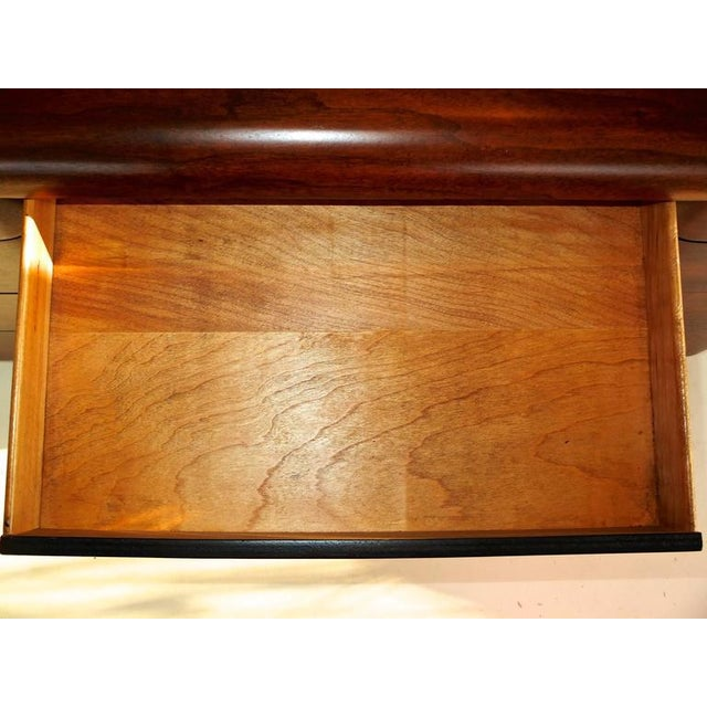 Plywood 1940's Paul Goldman Bent Plywood Desk for Plymold Corp For Sale - Image 7 of 8