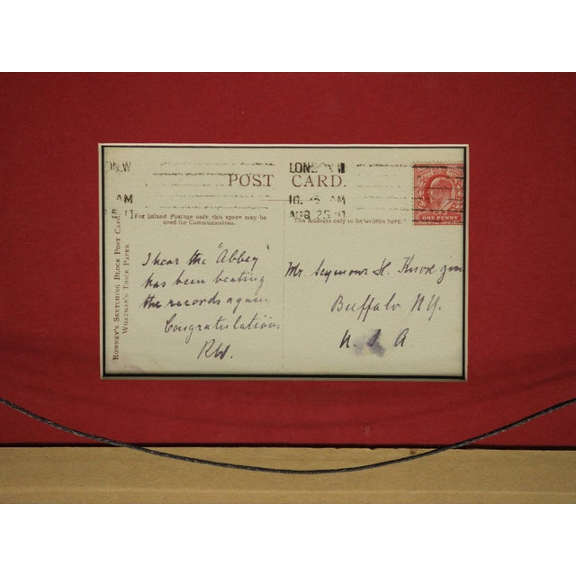 Five Postcard Pen & Ink Drawings, Circa 1910 For Sale - Image 10 of 10