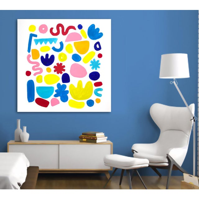 2010s 'Jubilation' Original Abstract Painting by Linnea Heide For Sale - Image 5 of 8