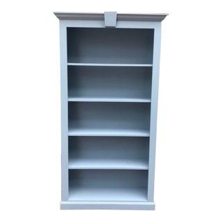 Contemporary Light Blue Bookcase For Sale