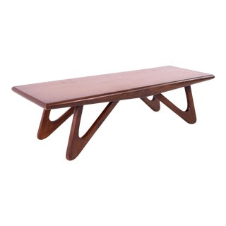 Adrian Pearsall for Craft Associates Mid Century Coffee Table For Sale