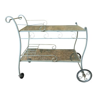Mid-Century Salterini Bar Cart For Sale
