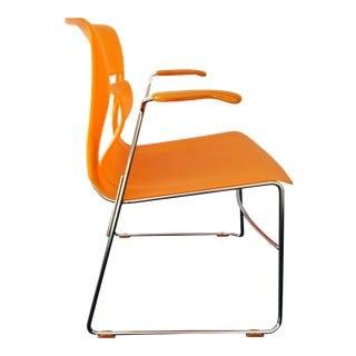 "Stylex ""Rhythm"" Armchair by Sava Cvek ""Tangerine Stackable Version"" For Sale"