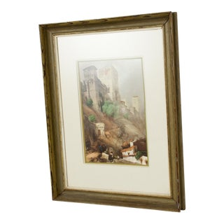 Impressionism European Landscape Lithograph on Paper For Sale