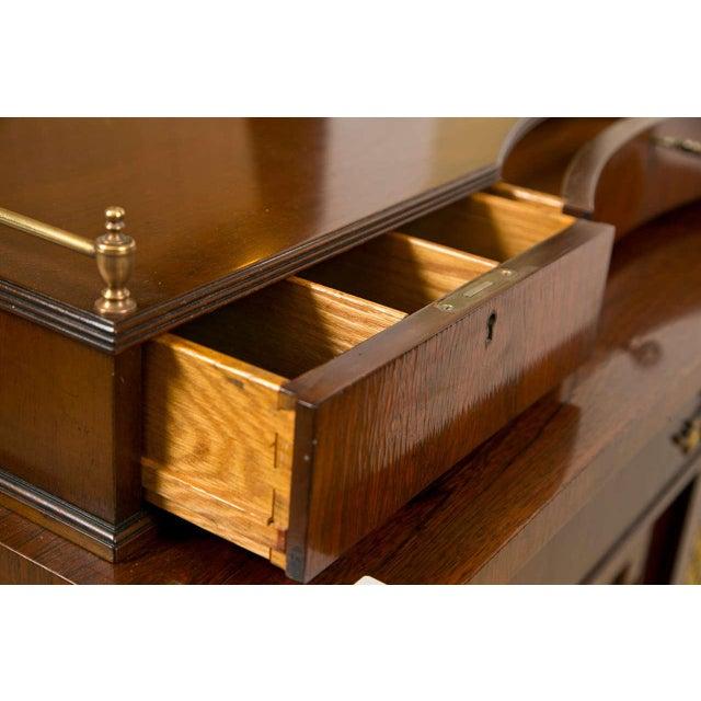 Regency Style Rosewood Serving Cabinet - Image 3 of 8