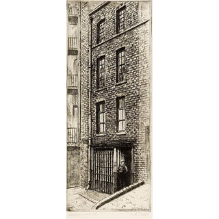Johnson's Court London Etching For Sale