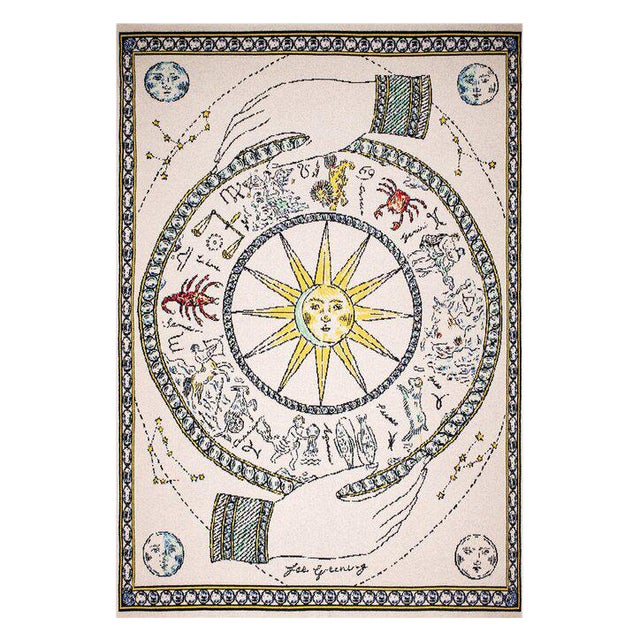 Fee Greening - Celestial Cashmere Blanket, 51' X 71' For Sale