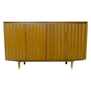 Jan Kuypers Wave Front Birch Sideboard by Imperial of Canada For Sale