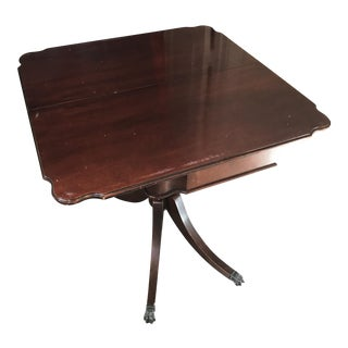 Imperial Grand Rapids Mahogany Table For Sale