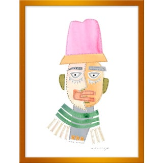 "Small ""Pharrell Buscemi"" Print by Melvin G., 16"" X 21"""