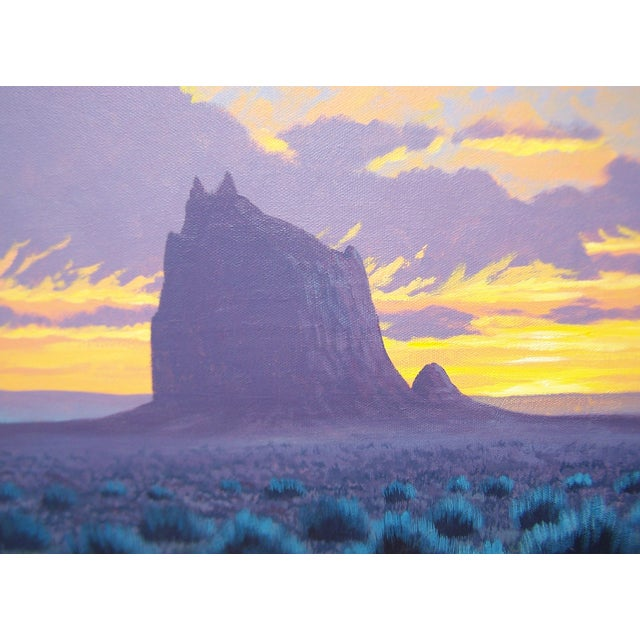 Original Navajo Painting by Fred Cleveland - Image 5 of 11