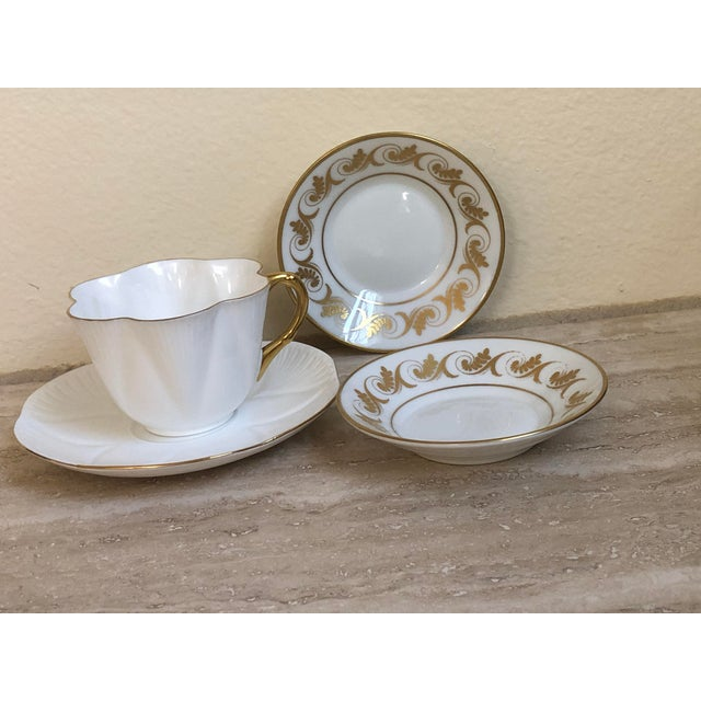 Richard Ginori and Shelley Regency Plates & Teacup, 4 Pieces For Sale In Los Angeles - Image 6 of 6