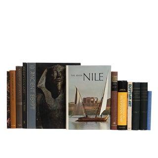 Vintage Egypt Book Set, S/12 For Sale