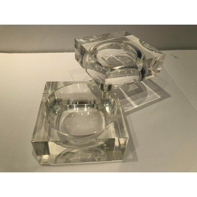 Mid-Century Modern 1960s Mid-Century Modern Lucite Ice Bucket For Sale - Image 3 of 9