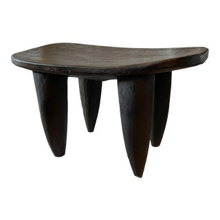 "African Senufo Stool / Table I Coast 29.5"" W by 17"" H For Sale"