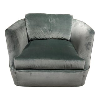 Century Furniture Lucca Swivel Chair For Sale