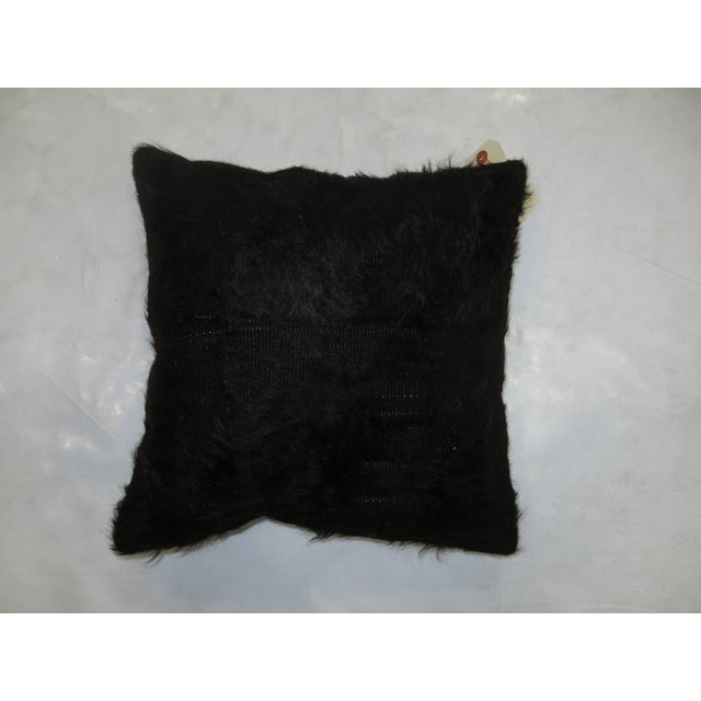 Boho Chic Vintage Turkish Mohair Pillow For Sale - Image 3 of 3