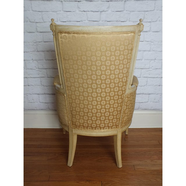 French Directoire Louis XVI Fauteuil - Image 3 of 11
