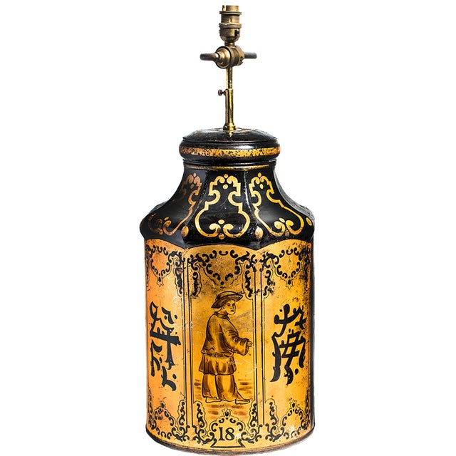 TEA TIN LAMPS For Sale - Image 4 of 4