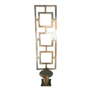 Sarried Ltd. Brass Candle Holder Sconce For Sale