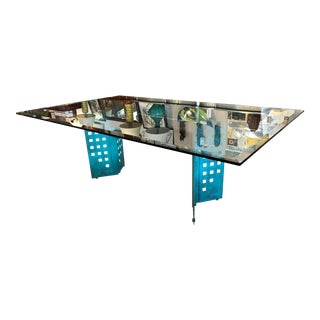 Double Pedestal Dining Room Table For Sale