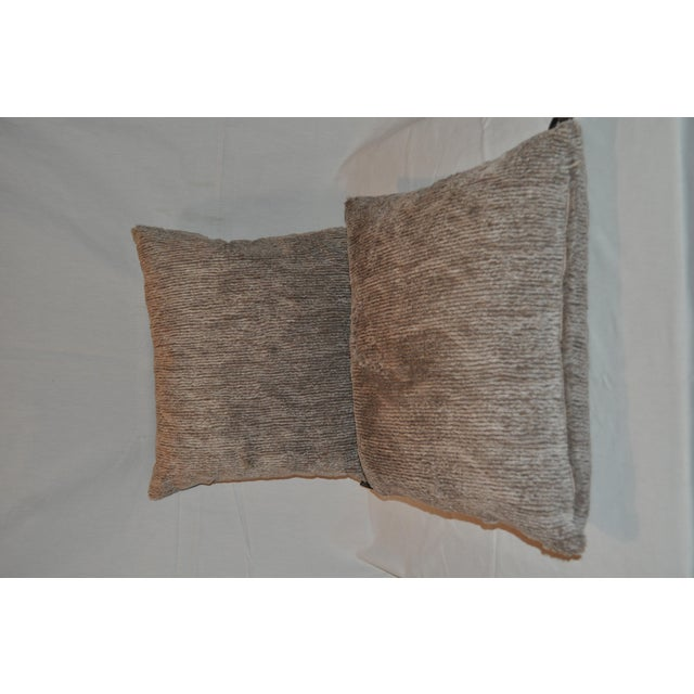 Aviva Stanoff Faux Fur Pillows - Pair - Image 2 of 7