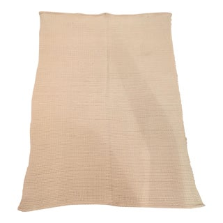 Ivory Chunky Knit Throw